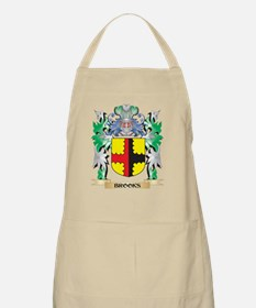 Brooks Coat of Arms - Family Crest Apron