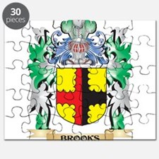 Brooks Coat of Arms - Family Crest Puzzle