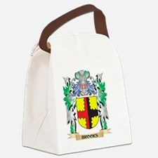 Brooks Coat of Arms - Family Cres Canvas Lunch Bag