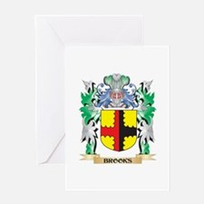 Brooks Coat of Arms - Family Crest Greeting Cards