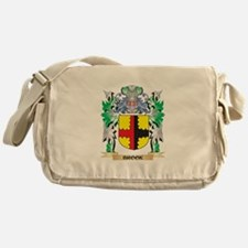 Brook Coat of Arms - Family Crest Messenger Bag