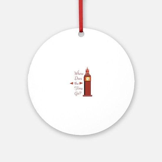Where Time Go Round Ornament