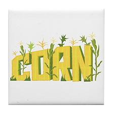 Corn Field Tile Coaster