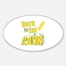 Eat Corn Decal