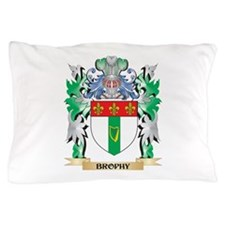 Brophy Coat of Arms - Family Crest Pillow Case