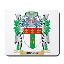 Brophy Coat of Arms - Family Crest Mousepad