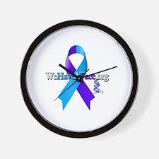 WeHaveAFace Wall Clock