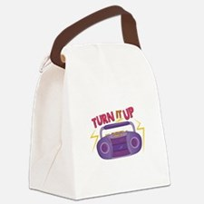 Turn It Up Canvas Lunch Bag