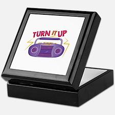 Turn It Up Keepsake Box