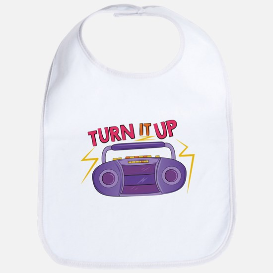 Turn It Up Bib