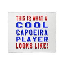 Capoeira Player Looks Like Throw Blanket
