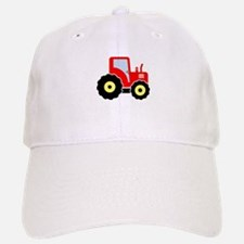 Red tractor Baseball Baseball Cap
