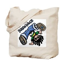 Breakdance Tote Bag