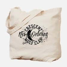 Crescent Wolf Clan The Originals Tote Bag