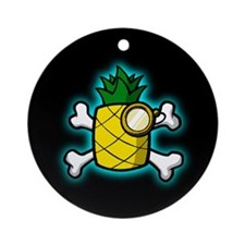 Dr. Pineapple & Crossbones Ornament