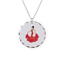 Spanish Dancer Necklace