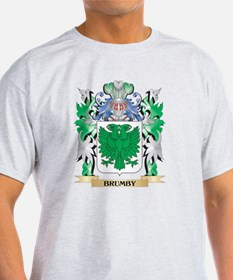 Brumby Coat of Arms - Family Cr T-Shirt