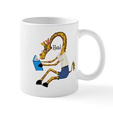 reading Giraffe Mugs