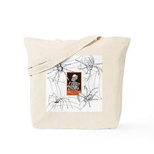 Spiders N Skeletons Tote Bag