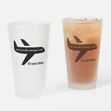 Passenger or pilot Drinking Glass