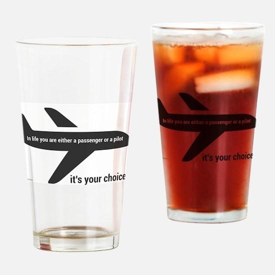 Passenger or pilot Drinking Glass