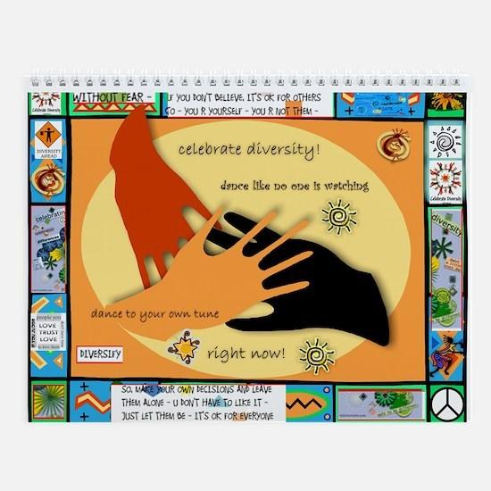 Diversity Hands 2 Wall Calendar