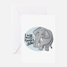 Never Forget You Greeting Cards