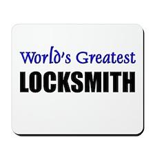 Worlds Greatest LOCKSMITH Mousepad
