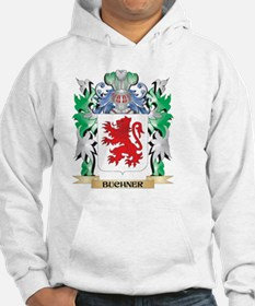 Buchner Coat of Arms - Family Cr Hoodie