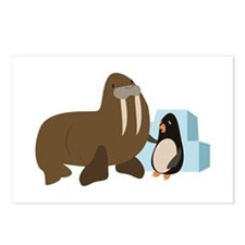 Walrus & Penguin Postcards (Package of 8)