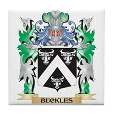 Buckles Coat of Arms - Family Crest Tile Coaster