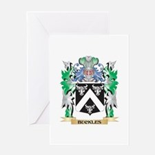 Buckles Coat of Arms - Family Crest Greeting Cards