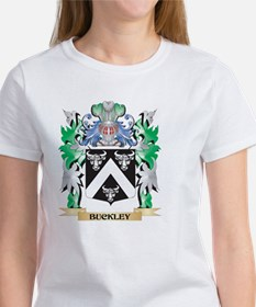 Buckley Coat of Arms - Family Crest T-Shirt
