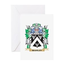 Buckley Coat of Arms - Family Crest Greeting Cards