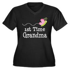 1st Time Grandma Plus Size T-Shirt