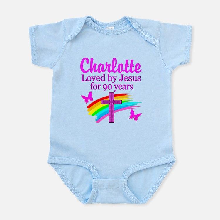 CHRISTIAN 90TH Infant Bodysuit