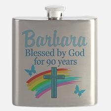 CHRISTIAN 90TH Flask