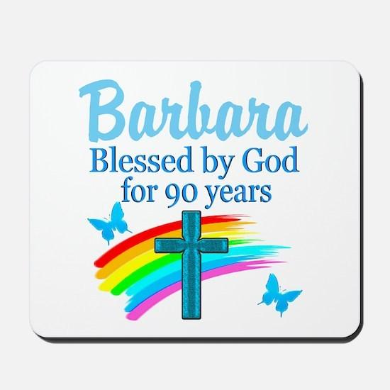 CHRISTIAN 90TH Mousepad