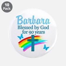 "CHRISTIAN 90TH 3.5"" Button (10 pack)"