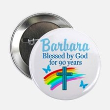 """CHRISTIAN 90TH 2.25"""" Button (10 pack)"""