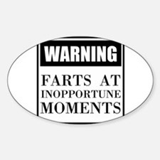 Fart Warning Decal
