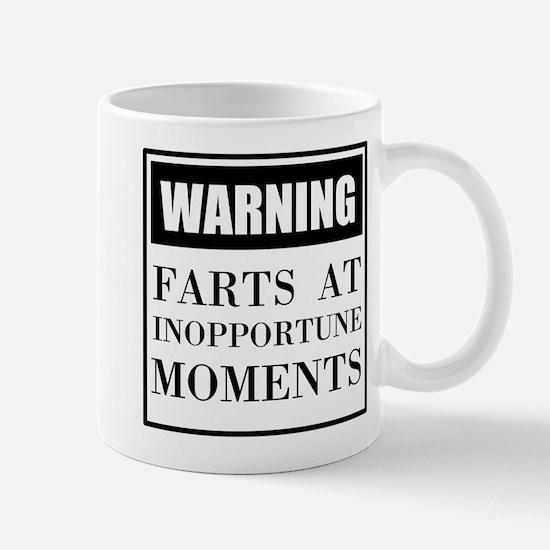 Fart Warning Mugs