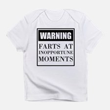 Fart Warning Infant T-Shirt