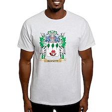 Burnett Coat of Arms - Family Crest T-Shirt