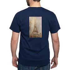 The Eiffel Tower by Seurat T-Shirt