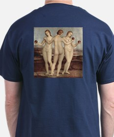 Three Graces by Raphael T-Shirt