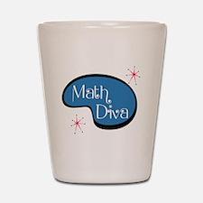Math Diva Shot Glass