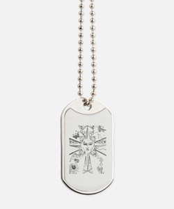Here Comes the Sun Dog Tags