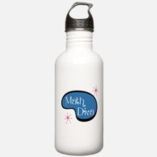 Math Diva Water Bottle