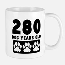 280 Dog Years Old Mugs